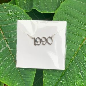 "NEW!! ☘️ Birth Year Necklace ""1990"""